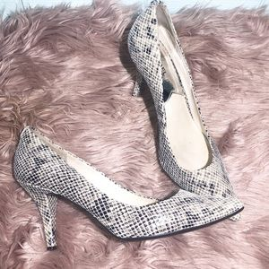 Michael Kors Snakeskin Pumps 10